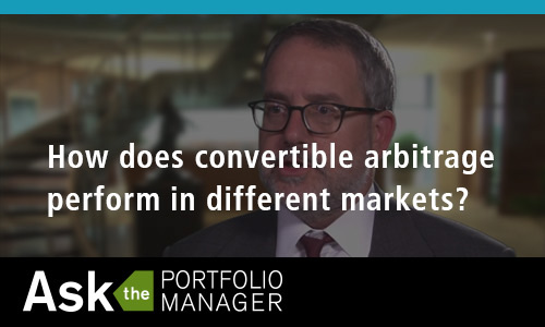 How does convertible arbitrage perform in different markets?
