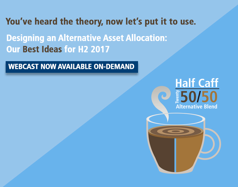 designing an alternative asset allocation webcast now on-demand