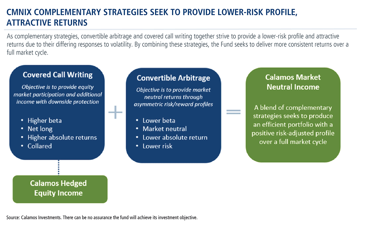 cmnix complementary strategies seek to provide lower-risk profile, attractive returns